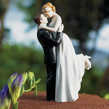 Cake Topper Conjonts Vrai Amour - The Wedding Shop !