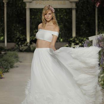 Pronovias. Credits: Barcelona Bridal Fashion Week