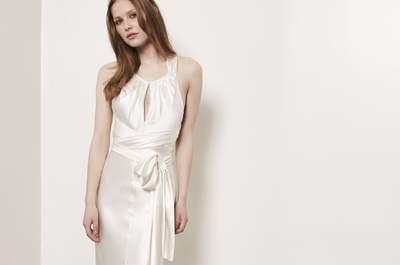 Vestidos de novia para boda civil, ¡diseños que no querrás dejar escapar!