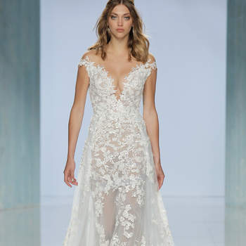 Galia Lahav. Credits- Barcelona Bridal Fashion Week