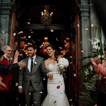 Casamento de Trisha & Luís. Fotografia: Álbum Weddings
