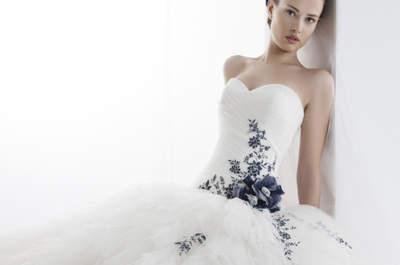 Abiti da sposa floreali 2015: rompi le regole della tradizione con le nostre proposte
