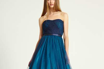 Blue Dresses for the Elegant Wedding Guest