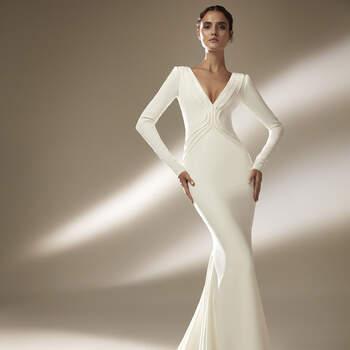 Créditos: Pronovias Cruise 2021 | Modelo do vestido: Burton