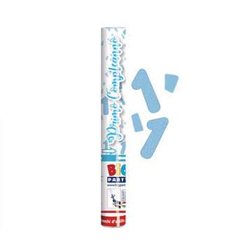 Lanzador De Confeti Primer Cumpleaños Azul Claro- Compra en The Wedding Shop