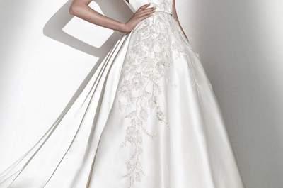 Descubre estos vestidos de novia de Elie Saab para Pronovias