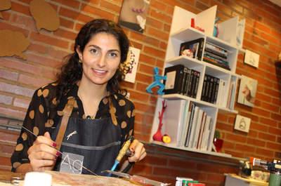 Foto: Ana González Diseñadora de Joyas