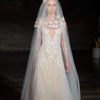 Reem Acra. Barcelona Bridal Fashion Week.