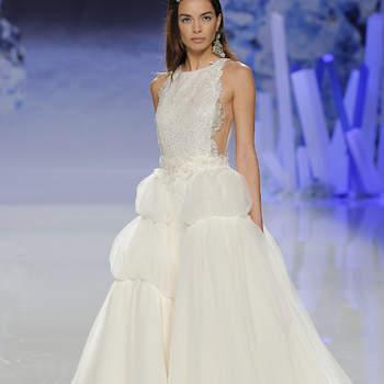 Inmaculada García. Credits: Barcelona Bridal Fashion Week.