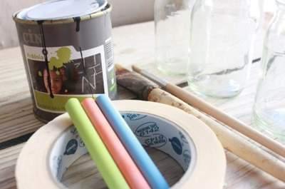 DIY: una idea para enumerar las mesas de la boda