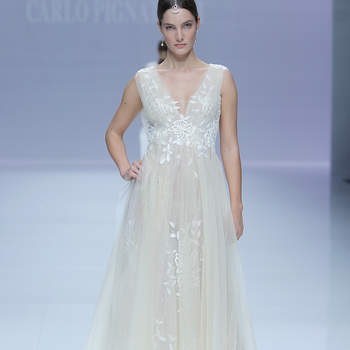 Carlos Pignatelli. Créditos: Barcelona Bridal Fashion Week