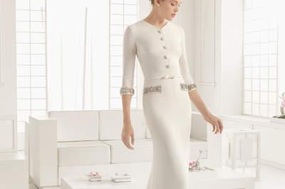 Brautmode für die zivile Trauung 2016: Für jeden Stil das passende Brautkleid!