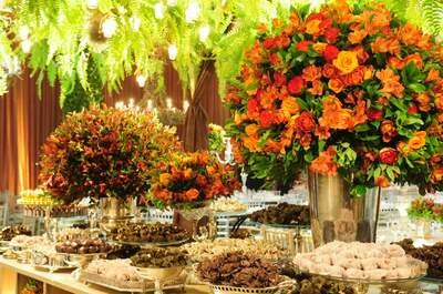 Deliciosos e sofisticados: doces e bolos de casamento em Curitiba