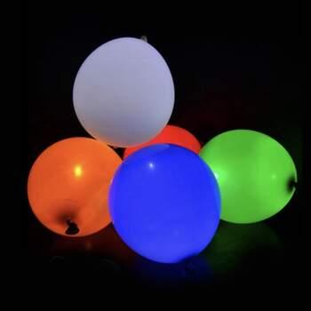Ballons À Led Coloré 5 Pièces - The Wedding Shop !