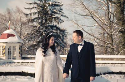 Unvergessliche Hochzeit im Schnee – Iris & Beat heirateten im Schloss Heidegg