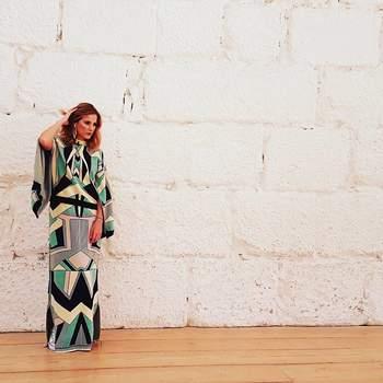 Luísa Barbosa a vestir Susana Bettencourt    Foto via Instagram @luisabarbosagram