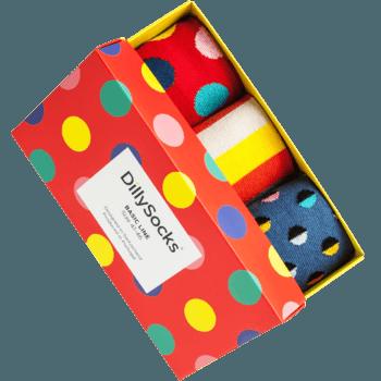 Socken-Geschenkbox - dillysocks.com