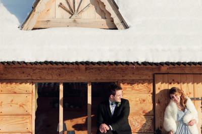 Sesja ślubna w -20 stopniach! Zaplanuj swoją zimową sesję już dziś!