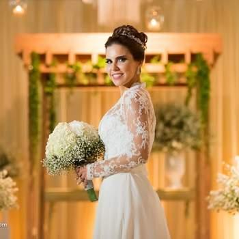 65 vestidos de noiva com manga longa 2017: maravilhosos!