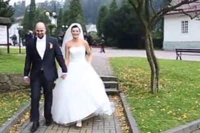 Ślub w Szczyku! Fantastyczne wideo weselne! Przekonaj się!
