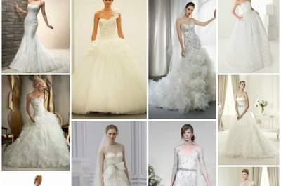 Top 10 des robes de mariée 2013