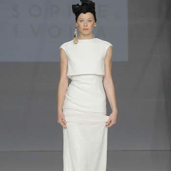 Pure Designs: Verlieben Sie sich in diese gerade geschnittenen Brautkleider