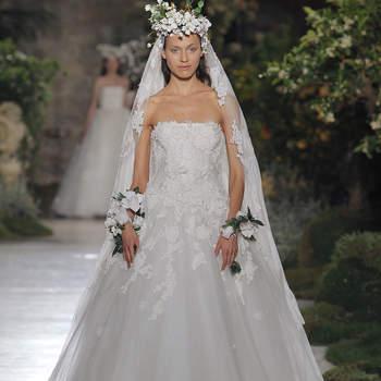 Kleid von Reem Acra. Credits_ Barcelona Bridal Fashion Week(2)