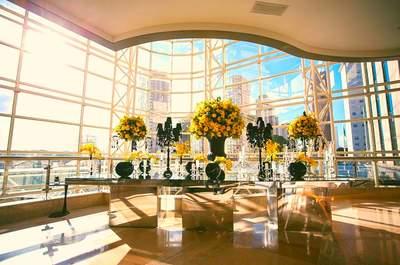 Casamento em um grande hotel: TUDO são vantagens!