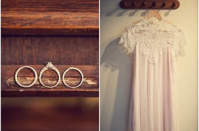 Casamento Lúdico e de conto de fadas: Alexandra e Théo