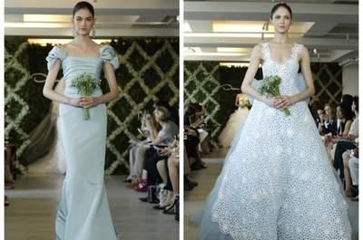 Tendance pastel pour les robes de mariée 2013