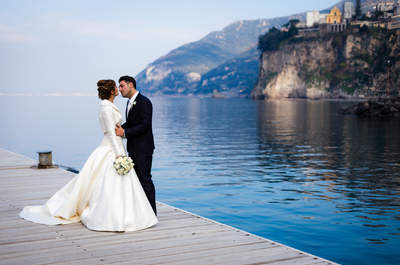 The perfect inspiration for your destination wedding in Italy: Claudia and Aniello's la dolce vita wedding!