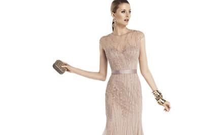 Vestidos de fiesta de Pronovias para las invitadas de 2014
