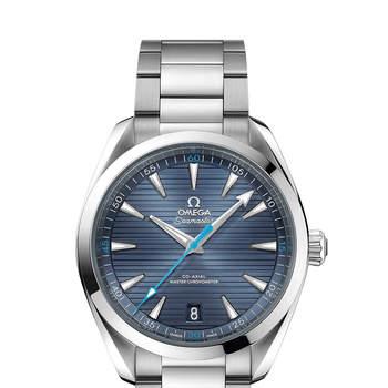 Aqua Terra 150M Omega Co-Axial Master Chronometer 41MM. Credits: Omega