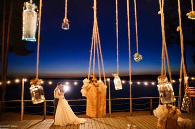 Яркая свадьба Светланы и Игоря в стиле Бохо