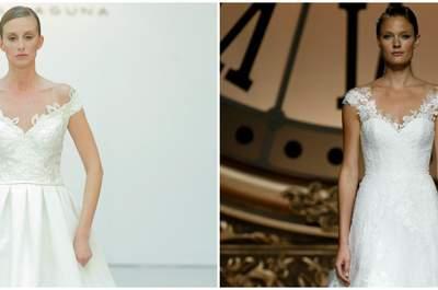 ¡Luce fabulosa con un vestido de novia con hombros caídos para la temporada 2016!