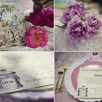 Décoration de table vintage. Photo : Joielala
