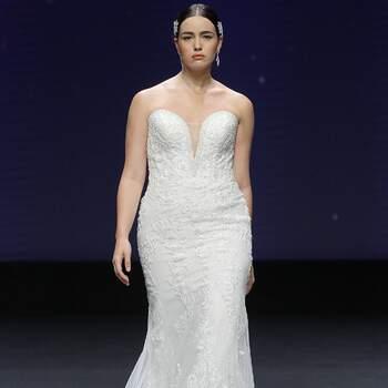 Demetrios 2021   Valmont Barcelona Bridal Fashion Week