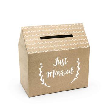 Caja Sobres Forma De Casa Vintage- Compra en The Wedding Shop