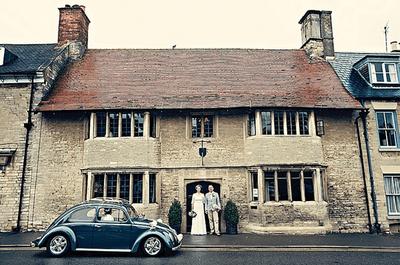 Una boda muy familiar con aires vintage