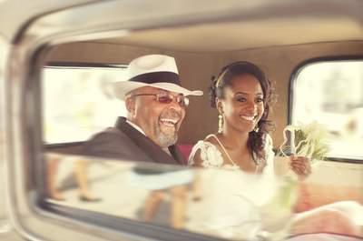 France-Laure et Mario : Les années folles pour un mariage rétro et romantique au dress code éblouissant