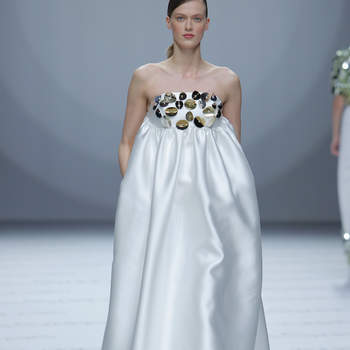 Credits: Isabel Sanchis. Credits_ Barcelona Bridal Fashion Week