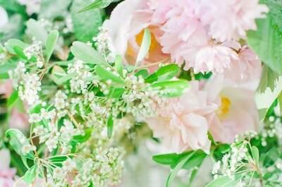La magia en color rosa: Jamás habías visto un ramo de novia tan hermoso... Wow!