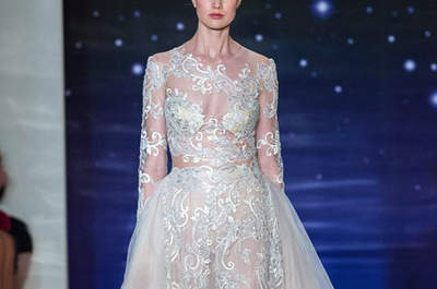 Second Skin: The Top Illusion Lace Wedding Dresses of 2015-16