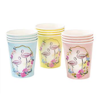 Vasos flamencos 12 piezas- Compra en The Wedding Shop