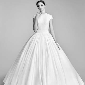 Vestidos de noiva de corte princesa: 50 modelos extraordinários que não vai querer deixar escapar!
