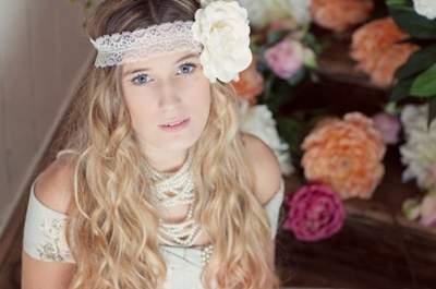 #MartesDeBodas: Todo sobre el estilo de una novia vintage y bohemia