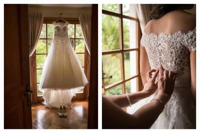Vota por el vestido de novia más hermoso. ¿Cuál es tu diseño favorito?