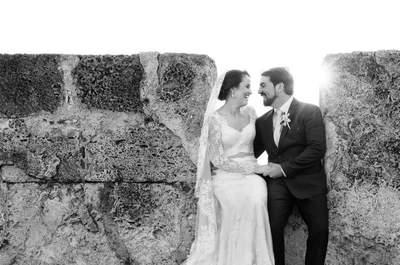 La boda de David y Melanie: ¡El amor romántico existe!