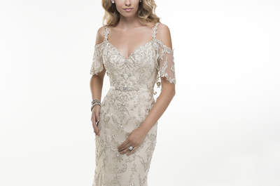 Vestidos de novia de Maggie Sottero con una fusión del Art Deco y mucho romance