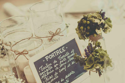 A beautiful vintage themed wedding in France: Brought to us by Label'Emotion